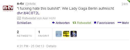 GagaTwitter