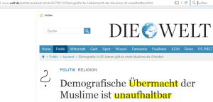 screenshot / welt.de